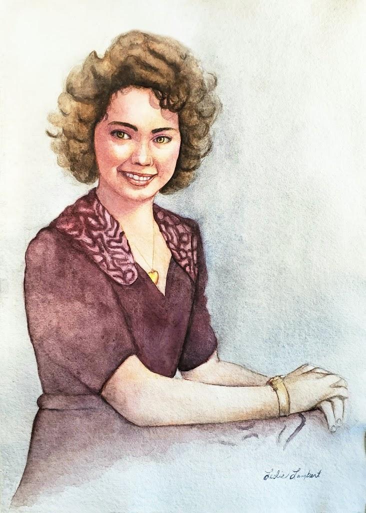 Portrait of Great Aunt Lois