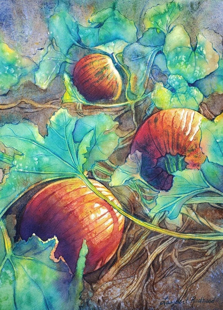 New Online Course! Painting Pumpkins in Watercolor