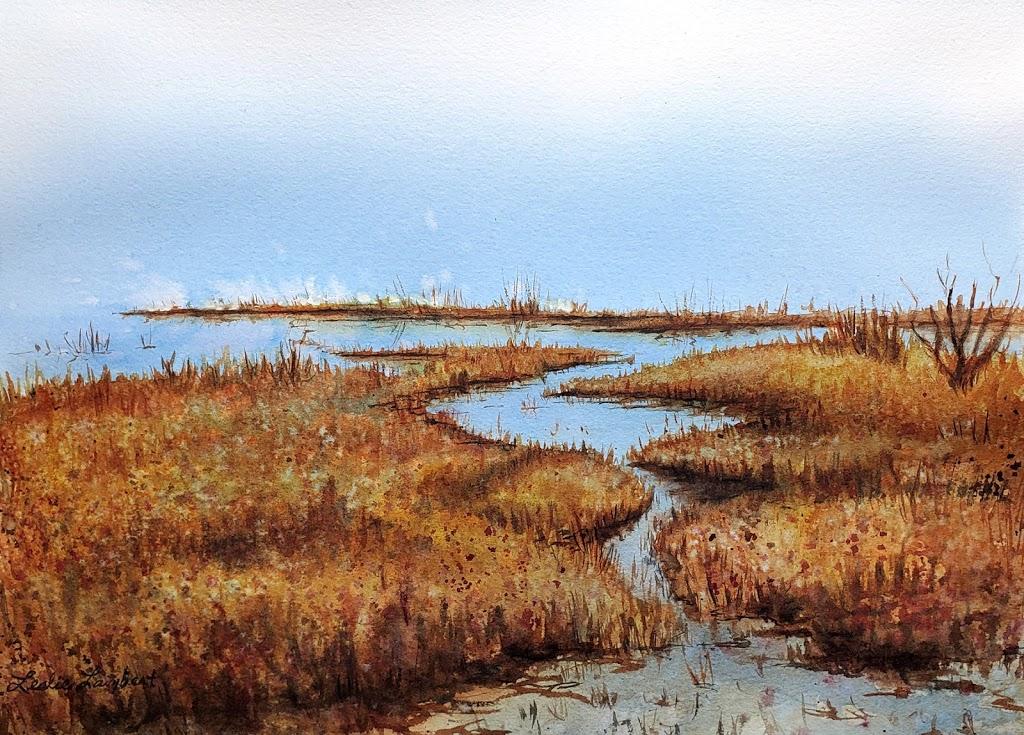 Study for Marsh's Edge